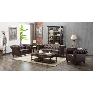 Amburgey 3 Piece Living Room Set by Darby Home Co SKU:BB574690 Reviews