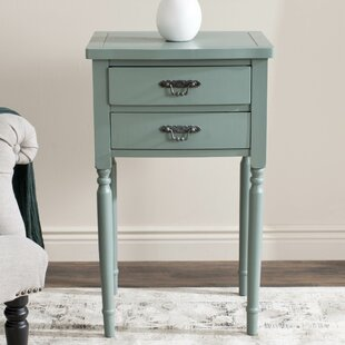 Reviews Clever End Table With Storage By Lark Manor