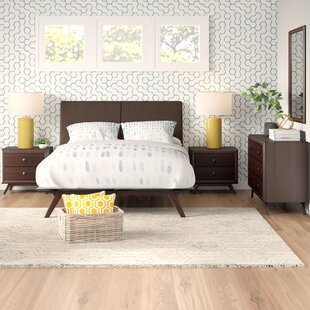 Modesto Queen Platform 5 Piece Bedroom Set by Langley Street Herry Up