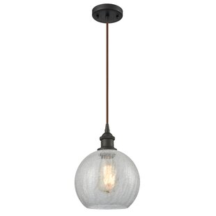 Brayden Studio Garduno 1-Light Globe Pendant