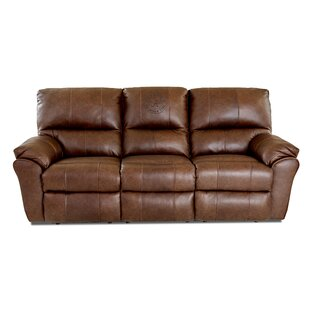 Bateman Elite Fan Furnishings Leather Reclining Sofa Klaussner Furniture