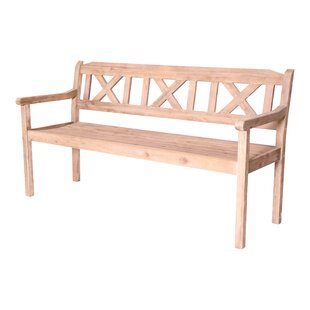 Rock Springs Wooden Bench By Union Rustic