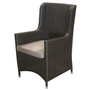 Jeffan Teegan Sunbrella Arm Chair with Cu..