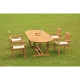 Pfeiffer Luxurious 5 Piece Teak Dining Set