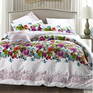 Wrought Studio Art Living Mia 3 Piece Egyptian-Quality Cotton Comforter Set