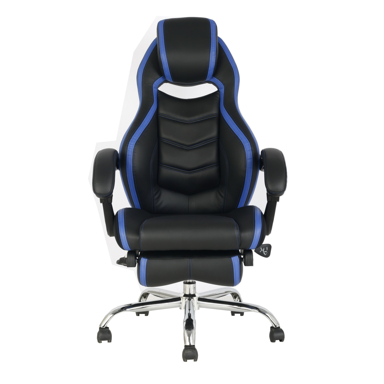 Picture of: Brayden Studio Crayton Genuine Leather Gaming Chair Wayfair