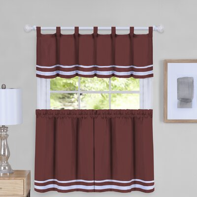 RT Designer\'s Collection Grand Silver Embroidered Kitchen Curtain ...