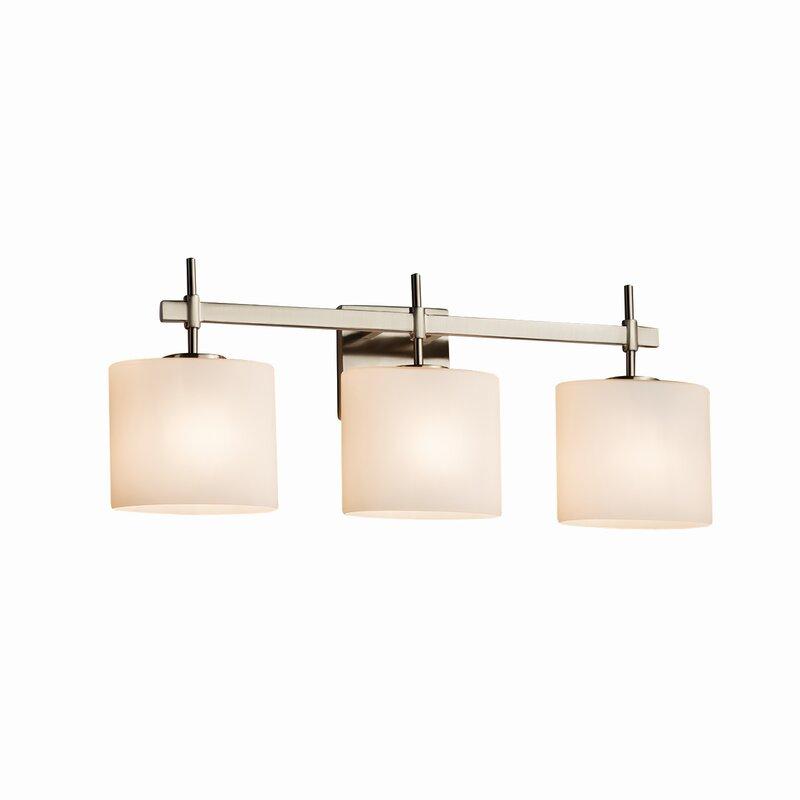 Latitude Run Donashia 3 Light Vanity Light Reviews Wayfair