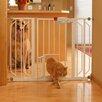 pressure mounted dog gate