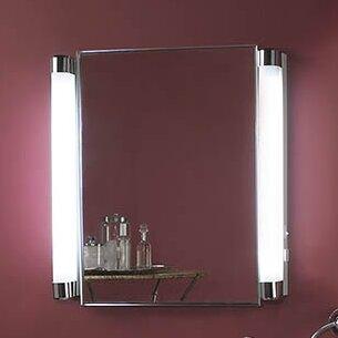 Orren Ellis Evesham 20.38 x 22.25 Recessed Medicine Cabinet with 2 Adjustable Shelves