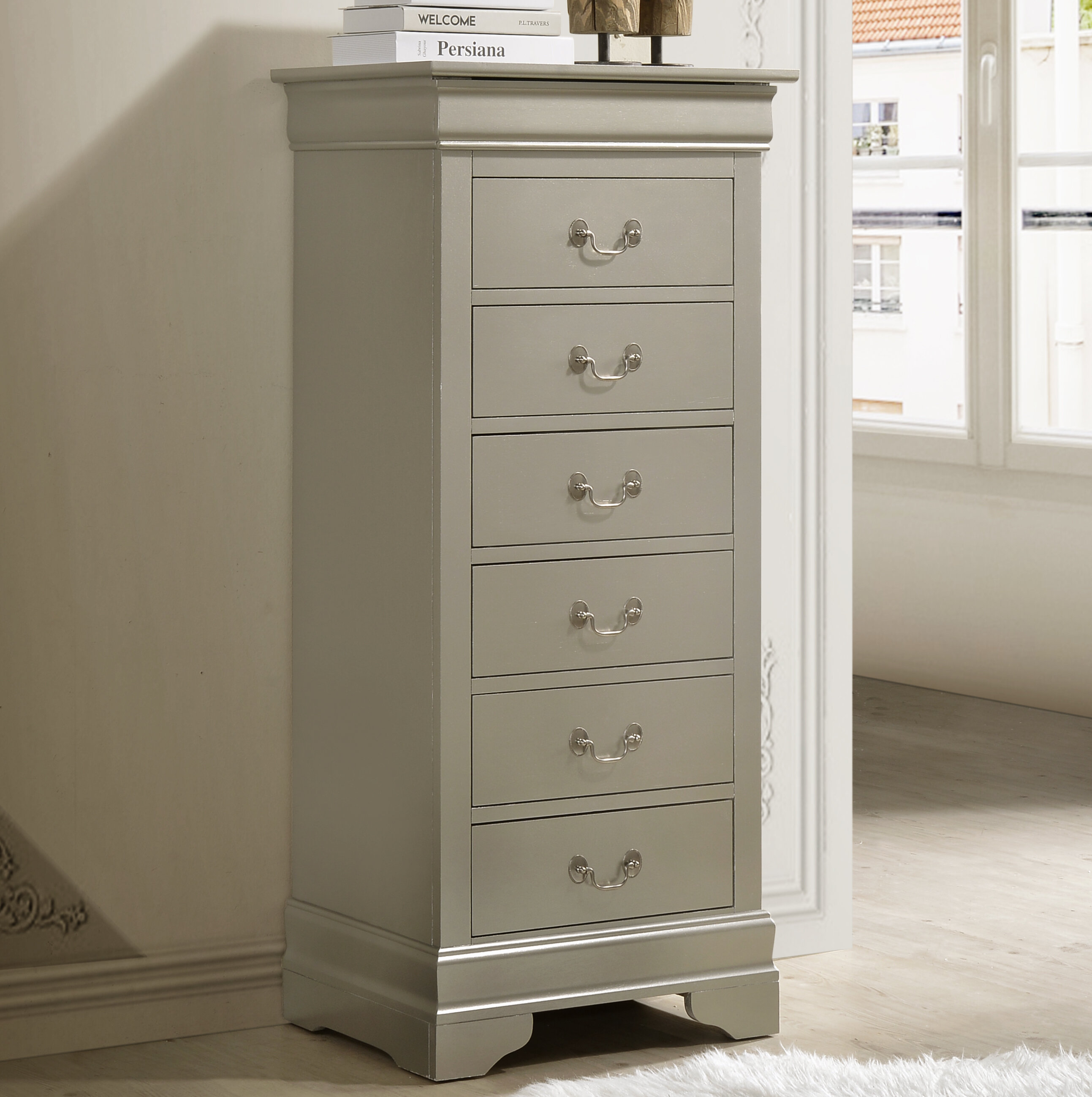 Silver Tall Dressers Chests You Ll Love In 2020 Wayfair