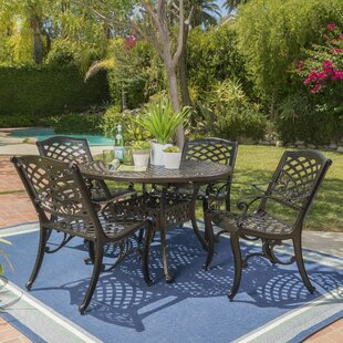 Brownlow Outdoor 5 Piece Dining Set