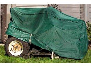 Violet Linen Lawn Mower Cover