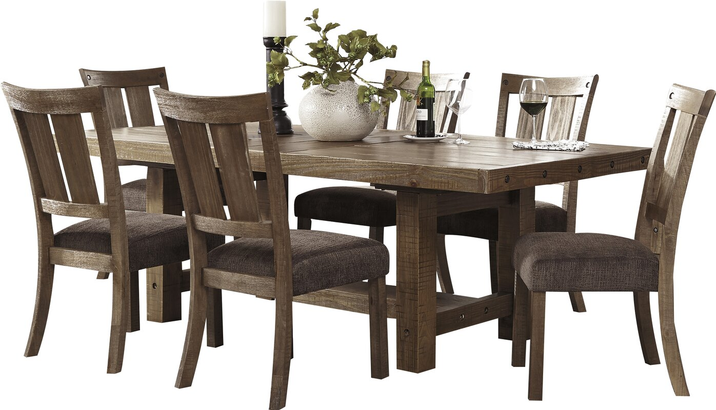 Extending Dining Room Table loon peak etolin counter height extendable dining table & reviews