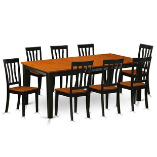 Loraine 9 Piece Dining Set by Red Barrel Studio #1