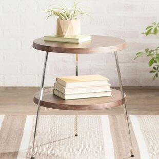 Plotinus End Table by Mercury Row