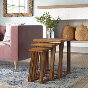Bret 3 Piece Nesting Tables Mistana