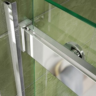 Essence 60 x 60 Bypass Frameless Tub Door with ClearMax™ Technology ByDreamLine