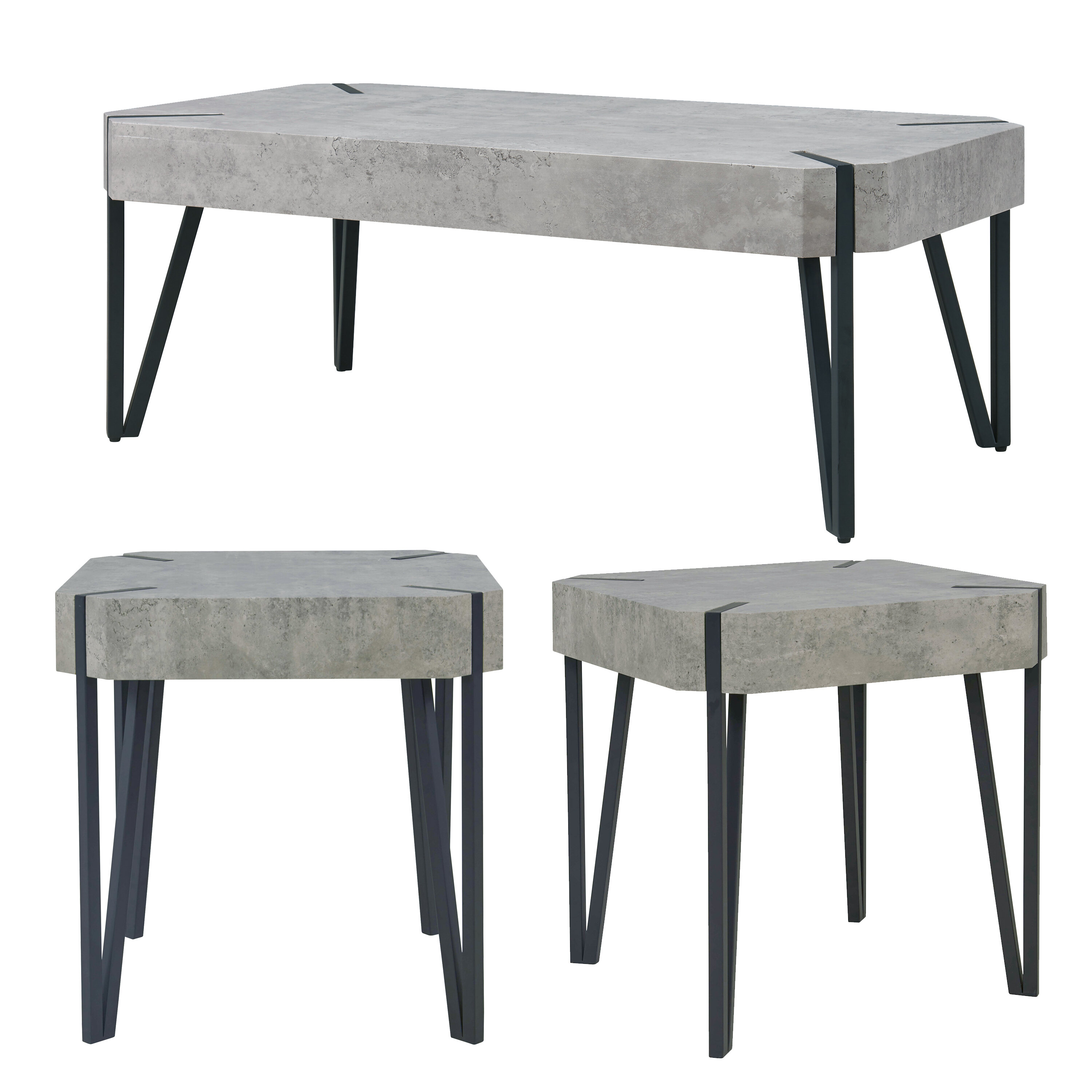 Grey Union Rustic Coffee Table Sets You Ll Love In 2021 Wayfair
