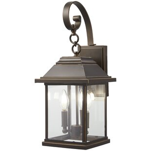Duplantis 3-Light Outdoor Wall Lantern by Charlton Home