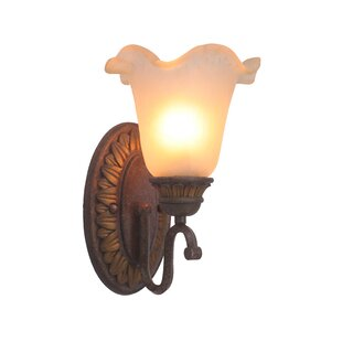 Elegante 1-Light Bath Sconce by Woodbridge Lighting
