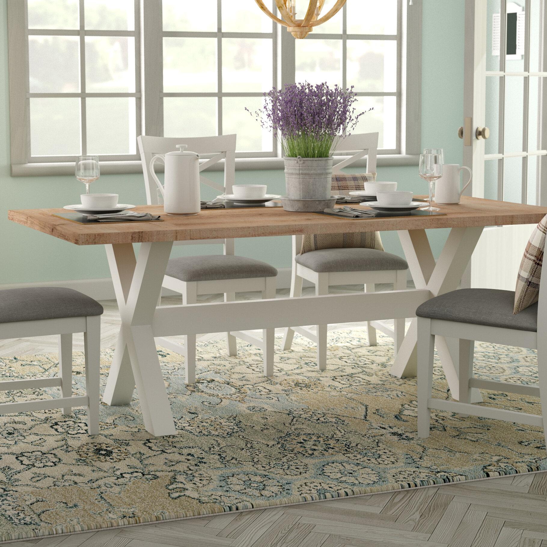 White Farmhouse Table Wayfair
