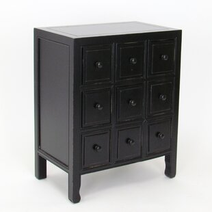 Rushmore 9 Drawer CD Chest by World Menagerie