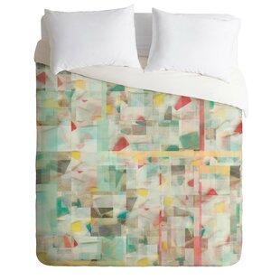 East Urban Home Mosaic Duvet Cover Set