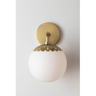 Huebner 1-Light Bath Sconce by..