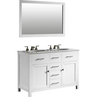 """Save to Idea Board. Sverre 48"""" Double Bathroom Vanity ..."""
