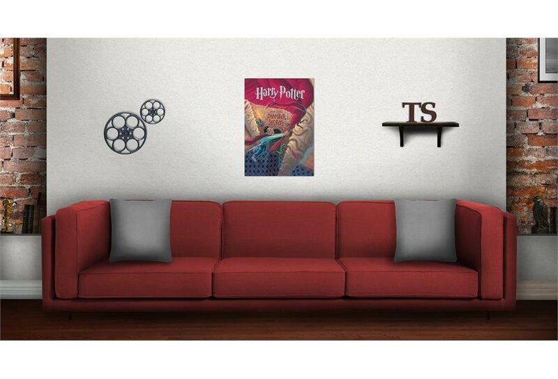 Harry Potter U0027Book Cover   Chamber Of Secretsu0027 Graphic Art Print