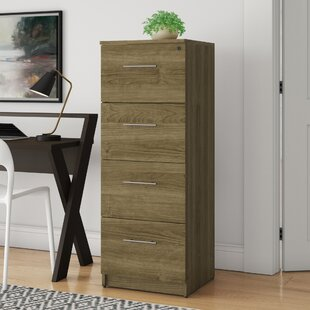Buragate 4-Drawer Vertical Filing Cabinet