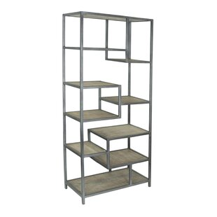 Dysart Tall Etagere Bookcase 17 Stories Coupon