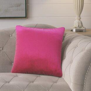 Pittenger Soft Luxury Velvet Throw Pillow