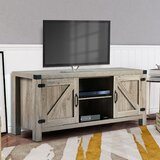 Arminta TV Stand for TVs up to 65 with Electric Fireplace Included by Millwood Pines