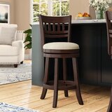Leda Swivel Bar & Counter Stool by Andover Mills™