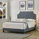 Sisemore Upholstered Standard Bed by Charlton Home®
