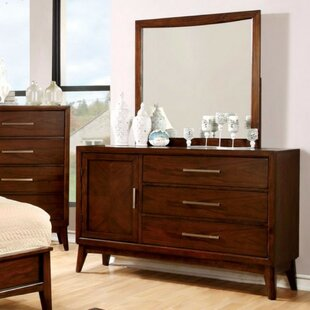 Timberville 3 Drawer Dresser with Mirror