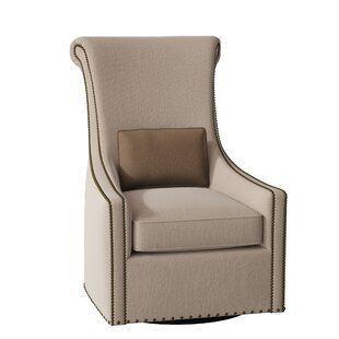 Maurice Swivel Armchair by Bernhardt