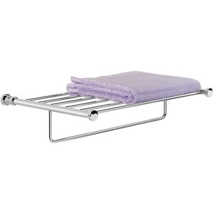 Longshore Tides Canter Wall Mounted Towel Rack