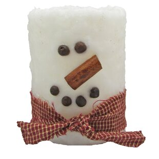 Snowman Scented Pillar Candle