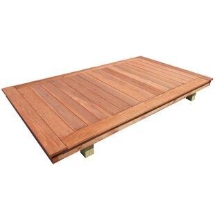 Premium Wood Platform By Handy Home