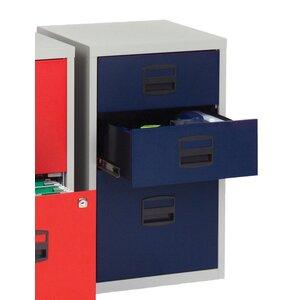 Aktenschrank Bisley mit 3 Schubladen von Home & ..