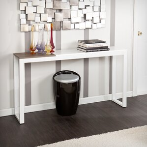 console table in living room.  Console Sofa and Entryway Tables You ll Love Wayfair