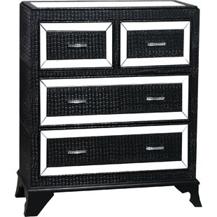 Glamour 4 Drawer Chest