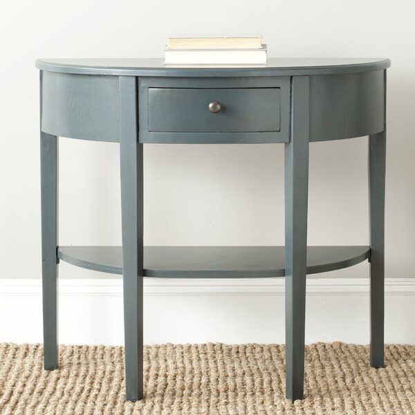 """Shop Joanna 33.9"""" Solid Wood Console Table from Wayfair on Openhaus"""