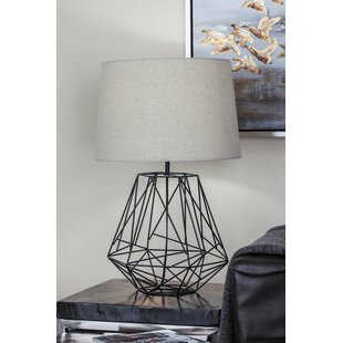 Chicken wire lamp wayfair metal wire 25 table lamp keyboard keysfo Choice Image