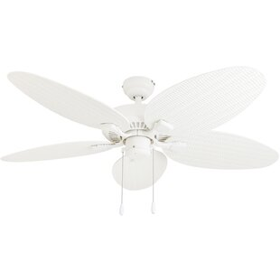 Wet rated outdoor ceiling fans wayfair 52 kalea 5 blade outdoor ceiling fan mozeypictures
