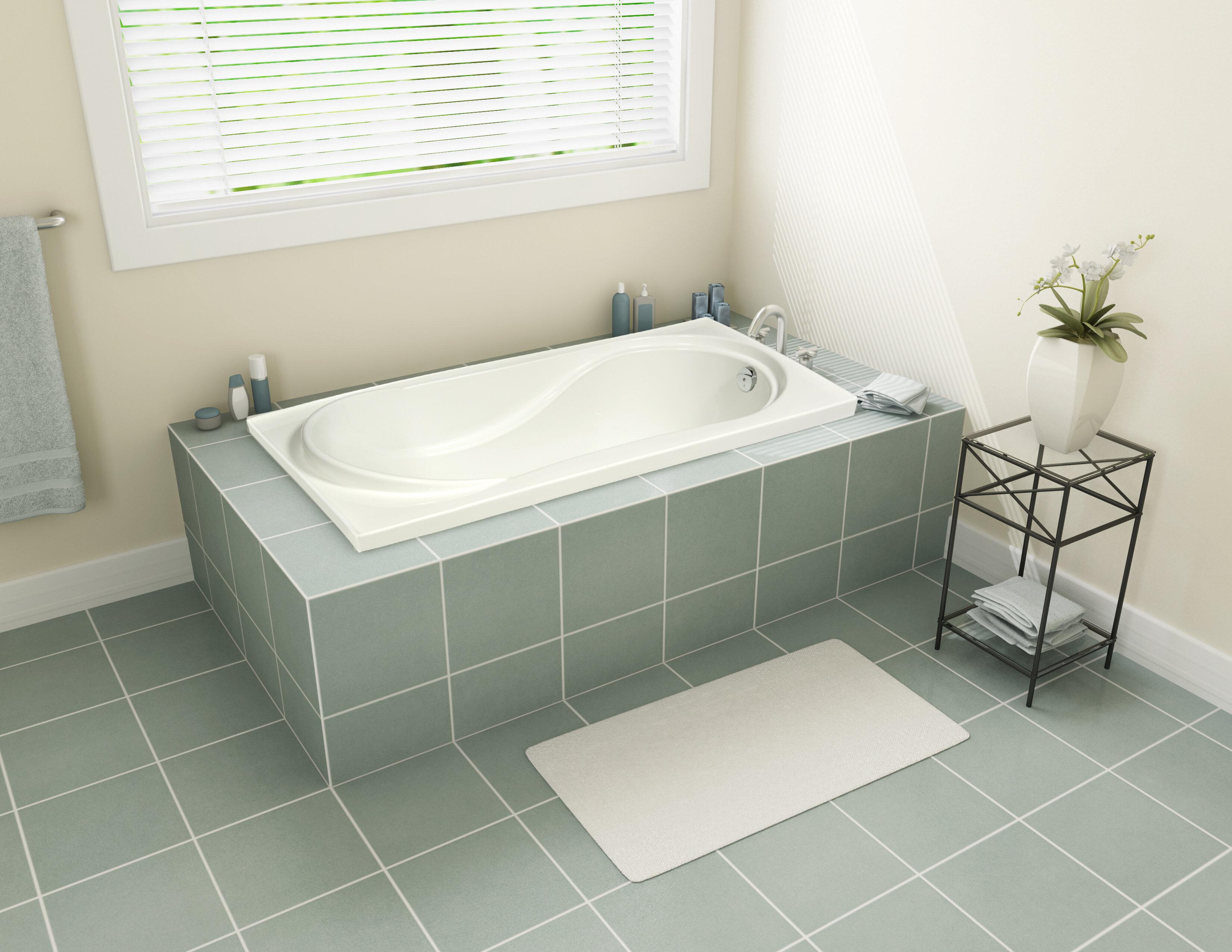 Marimba 31 X 60 Drop In Soaking Bathtub