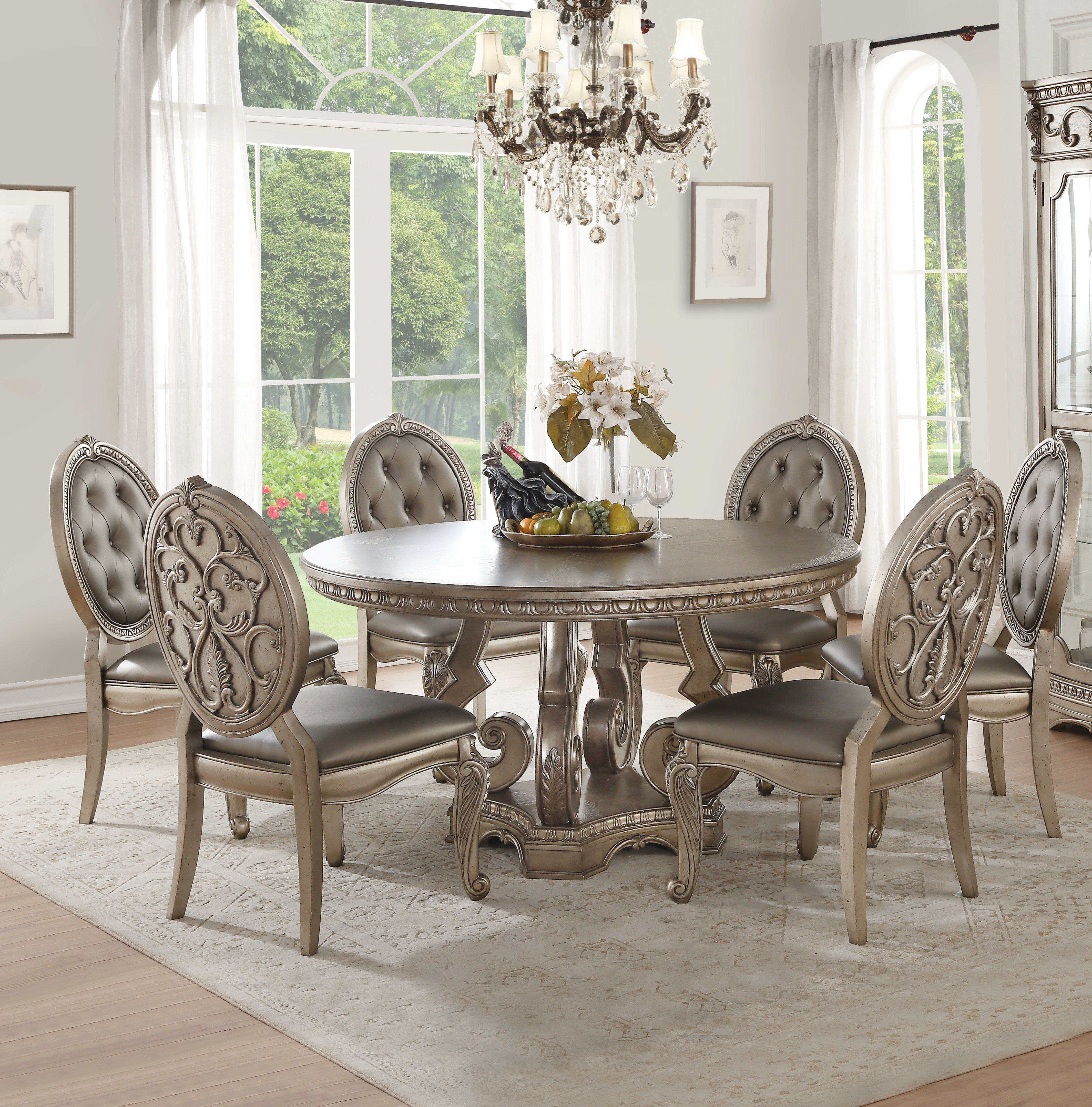 Bridewell 9   Person Dining Set